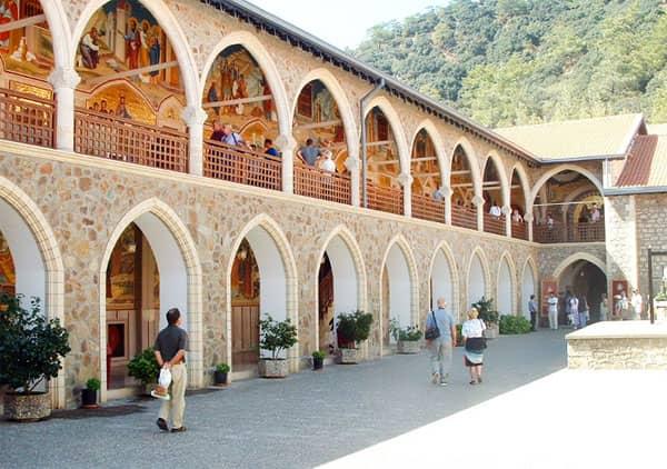Киккос - монастырь Кипра