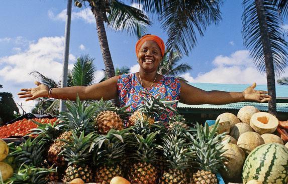 Люди в Доминикане