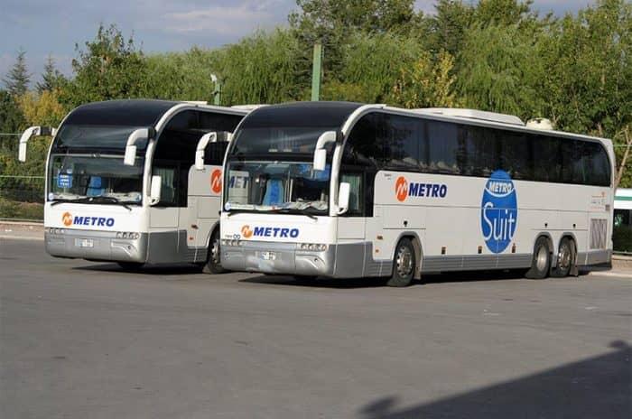 На автобусе в турции