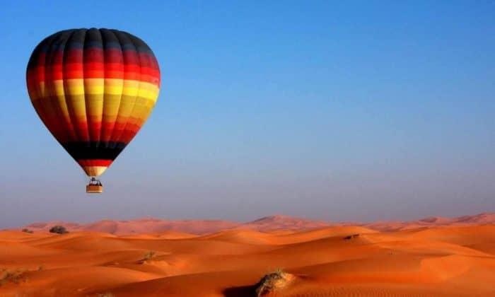 Полеты на воздушном шаре в пустыне
