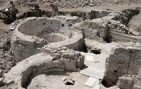 Раскопки римских бань