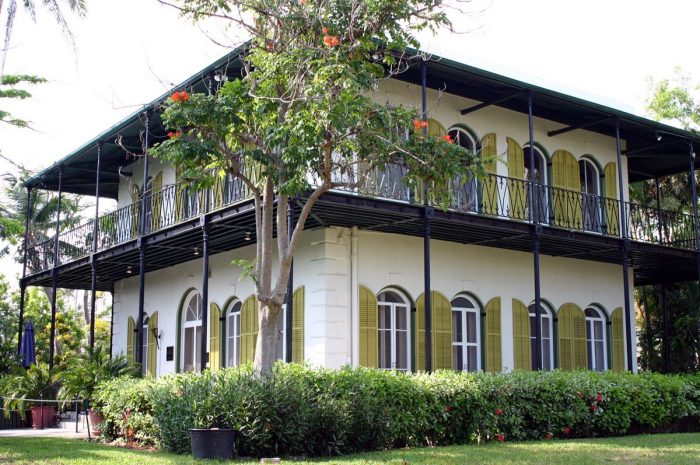 Дом музей Эрнеста Хемингуэя
