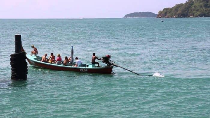 Лодки в Таиланде