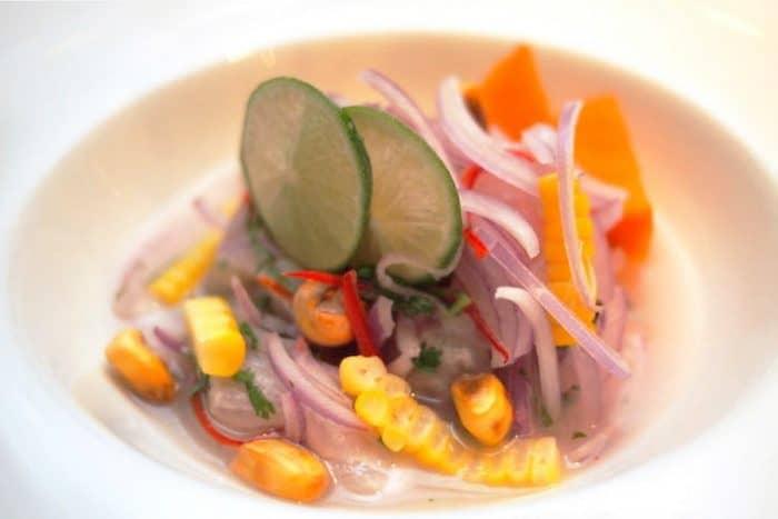 Местная кухня Перу