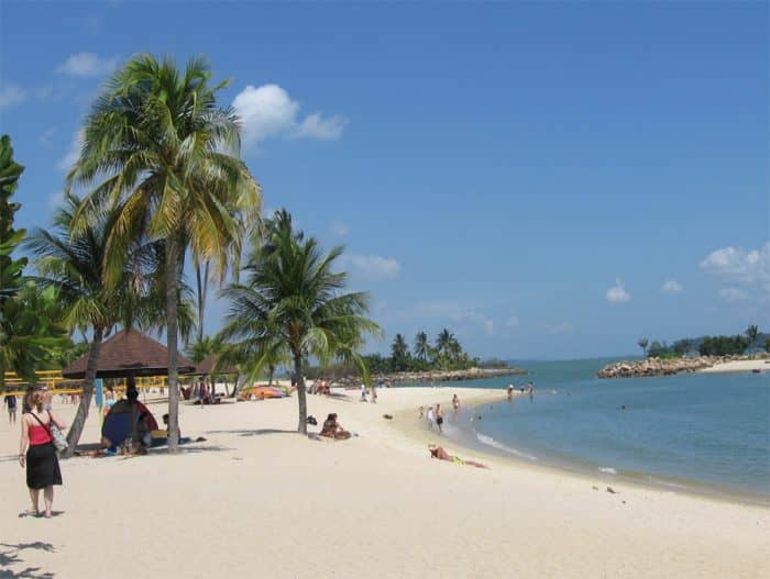 Пляжи Чанги