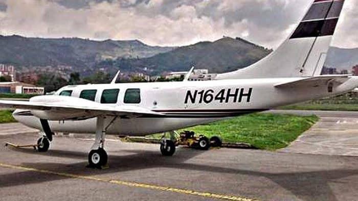 Колумбия самолет